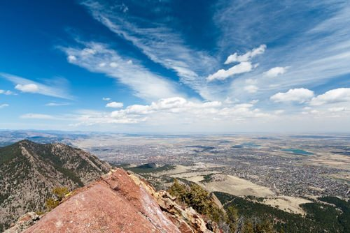 Aerial environmental monitoring in Boulder, CO