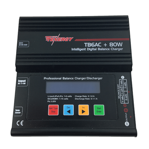 Battery charger for Black Swift S1 UAS