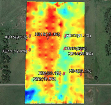 soil moisture mapping technology