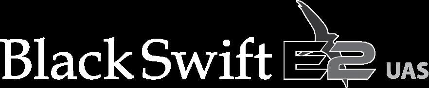 Black Swift E2 UAS logo