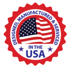 Designed, manufactured and serviced in the USA